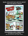 Cover for Gwandanaland Comics (Gwandanaland Comics, 2016 series) #33 - Basil Wolverton's Mystic Moot and His Magic Snoot