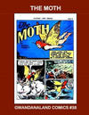 Cover for Gwandanaland Comics (Gwandanaland Comics, 2016 series) #38 - The Moth
