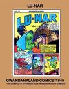 Cover for Gwandanaland Comics (Gwandanaland Comics, 2016 series) #40 - Lu-Nar