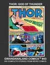 Cover for Gwandanaland Comics (Gwandanaland Comics, 2016 series) #43 - Thor: God of Thunder