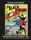 Cover for Gwandanaland Comics (Gwandanaland Comics, 2016 series) #44 - The Black Rider