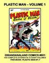 Cover for Gwandanaland Comics (Gwandanaland Comics, 2016 series) #801 - Plastic Man - Volume 1