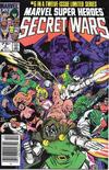 Cover for Marvel Super-Heroes Secret Wars (Marvel, 1984 series) #6 [Newsstand]