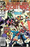 Cover for Marvel Super-Heroes Secret Wars (Marvel, 1984 series) #5 [Newsstand]