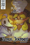 Cover for Disney Tim Burton's the Nightmare before Christmas: Zero's Journey (Tokyopop, 2018 series) #2