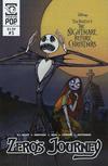 Cover for Disney Tim Burton's the Nightmare before Christmas: Zero's Journey (Tokyopop, 2018 series) #3