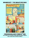 Cover for Gwandanaland Comics (Gwandanaland Comics, 2016 series) #56 - Minimidget: The Miniature Man