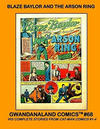 Cover for Gwandanaland Comics (Gwandanaland Comics, 2016 series) #68 - Blaze Baylor and the Arson Ring