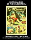 Cover for Gwandanaland Comics (Gwandanaland Comics, 2016 series) #76 - Buzz Crandall of the Space Patrol