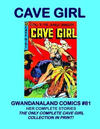 Cover for Gwandanaland Comics (Gwandanaland Comics, 2016 series) #81 - Cave Girl