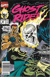Cover for Ghost Rider (Marvel, 1990 series) #20 [Newsstand]