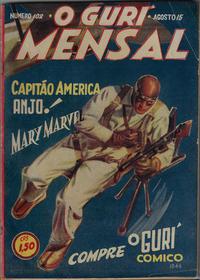 Cover for O Guri Comico (O Cruzeiro, 1940 series) #102
