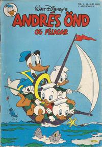 Cover for Andrés Önd (Egmont, 1983 series) #1/1983