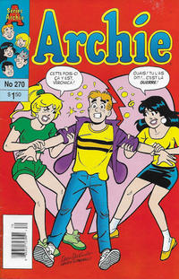 Cover Thumbnail for Archie (Editions Héritage, 1971 series) #270