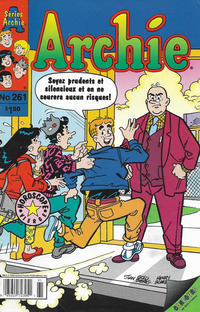 Cover Thumbnail for Archie (Editions Héritage, 1971 series) #261