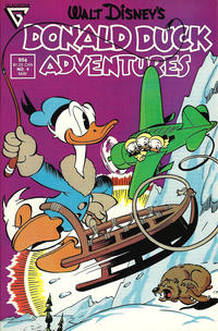 Cover Thumbnail for Walt Disney's Donald Duck Adventures (Gladstone, 1987 series) #4 [Direct]