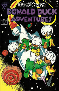 Cover Thumbnail for Walt Disney's Donald Duck Adventures (Gladstone, 1987 series) #5 [Direct]