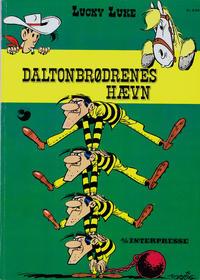 Cover Thumbnail for Lucky Luke (Interpresse, 1971 series) #13 - Daltonbrødrenes hævn
