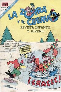Cover Thumbnail for La Zorra y el Cuervo (Editorial Novaro, 1952 series) #216