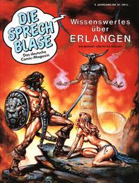 Cover Thumbnail for Die Sprechblase (Norbert Hethke Verlag, 1978 series) #61