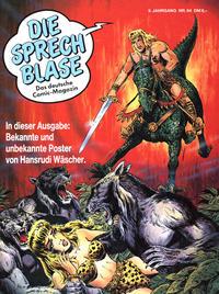 Cover Thumbnail for Die Sprechblase (Norbert Hethke Verlag, 1978 series) #64