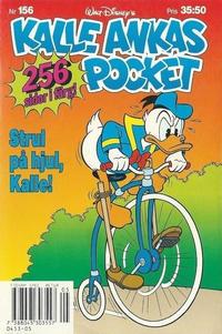 Cover Thumbnail for Kalle Ankas pocket (Serieförlaget [1980-talet], 1993 series) #156 - Strul på hjul, Kalle!