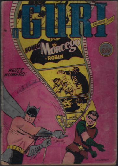 Cover for O Guri Comico (O Cruzeiro, 1940 series) #155