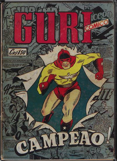 Cover for O Guri Comico (O Cruzeiro, 1940 series) #141