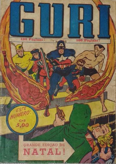 Cover for O Guri Comico (O Cruzeiro, 1940 series) #182