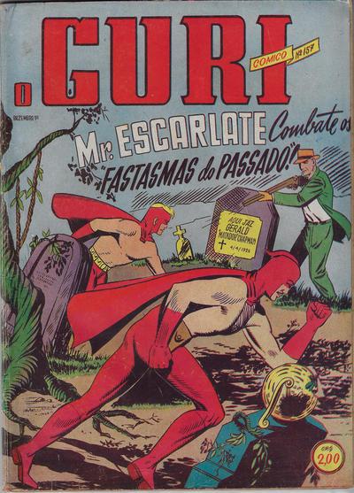 Cover for O Guri Comico (O Cruzeiro, 1940 series) #157