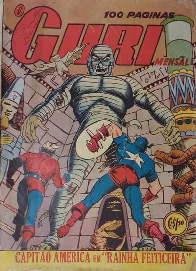 Cover for O Guri Comico (O Cruzeiro, 1940 series) #126