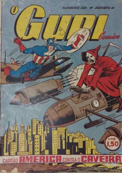 Cover for O Guri Comico (O Cruzeiro, 1940 series) #125