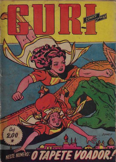 Cover for O Guri Comico (O Cruzeiro, 1940 series) #169