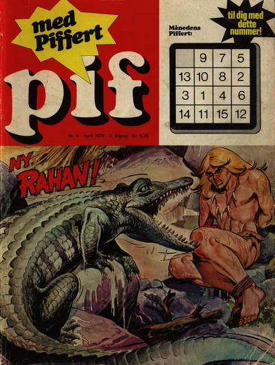 Cover for Pif (Egmont, 1973 series) #4/1974