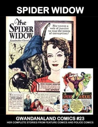 Cover for Gwandanaland Comics (Gwandanaland Comics, 2016 series) #23 - Spider Widow