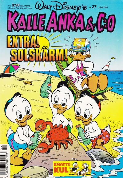 Cover for Kalle Anka & C:o (Hemmets Journal, 1957 series) #27/1990