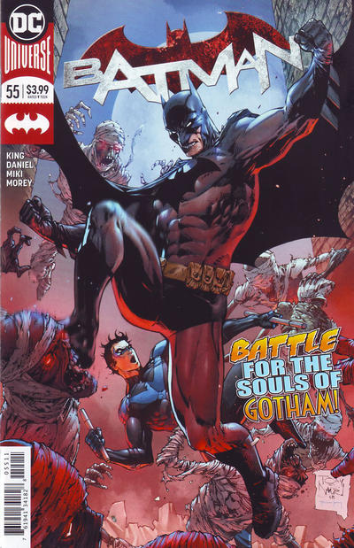 Cover for Batman (DC, 2016 series) #55