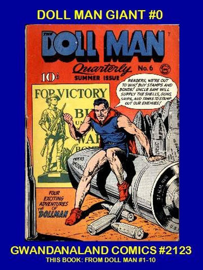 Cover for Gwandanaland Comics (Gwandanaland Comics, 2016 series) #2123 - Doll Man Giant #0