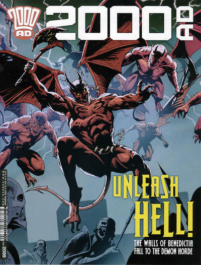 Cover for 2000 AD (Rebellion, 2001 series) #2099