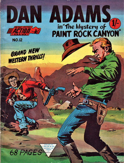 Cover for Action Series (L. Miller & Son, 1958 series) #12