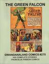 Cover for Gwandanaland Comics (Gwandanaland Comics, 2016 series) #275 - The Green Falcon