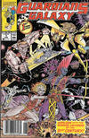 Cover for Guardians of the Galaxy (Marvel, 1990 series) #1 [Newsstand]
