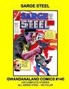 Cover for Gwandanaland Comics (Gwandanaland Comics, 2016 series) #140 - Sarge Steel