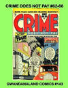 Cover for Gwandanaland Comics (Gwandanaland Comics, 2016 series) #143 - Crime Does Not Pay #62-66