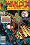 Cover for Warlock and the Infinity Watch (Marvel, 1992 series) #1 [Newsstand]