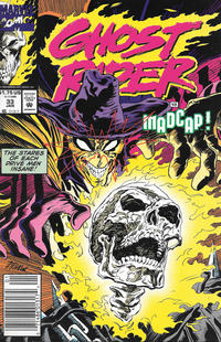 Cover for Ghost Rider (Marvel, 1990 series) #33 [Direct]