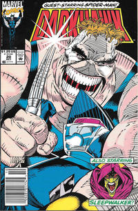 Cover Thumbnail for Darkhawk (Marvel, 1991 series) #20 [Newsstand]