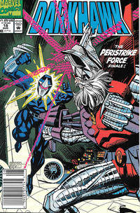 Cover Thumbnail for Darkhawk (Marvel, 1991 series) #18 [Newsstand]