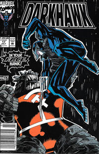 Cover Thumbnail for Darkhawk (Marvel, 1991 series) #17 [Newsstand]