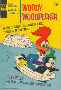 Cover Thumbnail for Walter Lantz Woody Woodpecker (Western, 1962 series) #121 [Whitman]